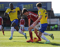 Swindon Town's John Swift in action during the Sky Bet League One match between Swindon Town and Crawley Town at The County Ground on 21 February 2015 in Swindon, England - Photo mandatory by-line: Paul Knight/JMP - Mobile: 07966 386802 - 21/02/2015 - SPORT - Football - Swindon - The County Ground - Swindon Town v Crawley Town - Sky Bet League One