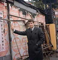 Eddy Mitchell à Paris dans les années 70 - Souchon / PixPlanete - Exclusif - A négocier, pas de forfait ni internet