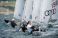 Franziska Goltz (GER), Laser Radial, women's one person dinghy, Sailing Olympic Test Event, Weymouth, England, Photo by: Peter Llewellyn