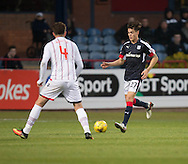 Dundee&rsquo;s Jesse Curran and Ross County&rsquo;s Christopher Routis - Dundee v Ross County in the Ladbrokes Scottish Premiership at Dens Park, Dundee. Photo: David Young<br /> <br />  - &copy; David Young - www.davidyoungphoto.co.uk - email: davidyoungphoto@gmail.com