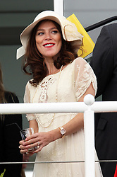 Anna Friel  at Ladies Day at Glorious Goodwood, Thursday, 2nd August 2012 Photo by: Stephen Lock / i-Images
