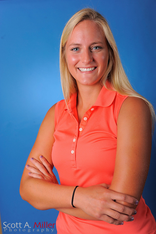 Alainna Stefan during a portrait session prior to the second stage of LPGA Qualifying School at the Plantation Golf and Country Club on Sept. 24, 2011 in Venice, FL...©2011 Scott A. Miller