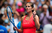 Julia Goerges of Germany celebrates during her second round match at the 2020 Australian Open, WTA Grand Slam tennis tournament on January 22, 2020 at Melbourne Park in Melbourne, Australia - Photo Rob Prange / Spain ProSportsImages / DPPI / ProSportsImages / DPPI