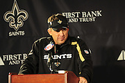 The New Orleans Saints defeat the Atlanta Falcons to go undefeated in the NFC East Monday Nov.2 ,2009 in the SuperDome in New Orleans Louisiana. Photo ©Suzi Altman /Images are NOT Public domain, call or email suzisnaps@aol.com for use or prints call 601-668-9611