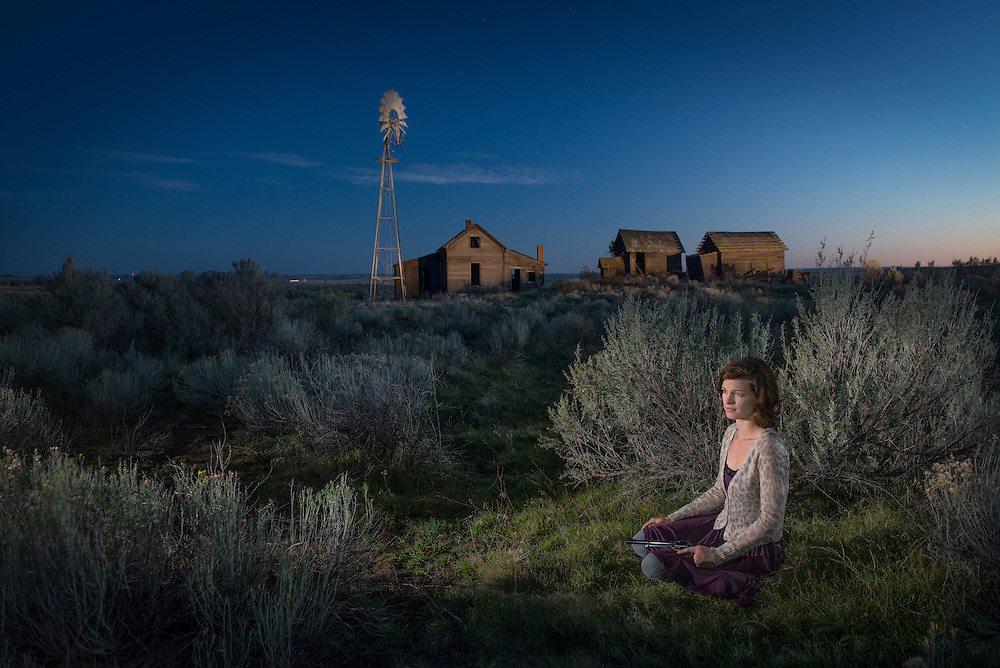 American  Dreamscapes / Homestead II<br /> <br /> Shaniko, Oregobn, USA, 2013