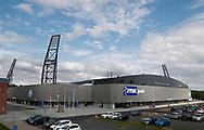 FODBOLD: Jysk Park før kampen i ALKA Superligaen mellem Silkeborg IF og FC Helsingør den 11. august 2017 på Jysk Park i Silkeborg. Foto: Claus Birch