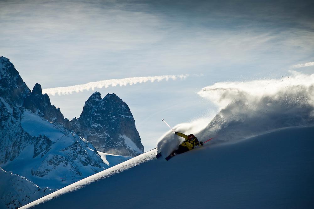 Flo Wieser, Chamonix, France