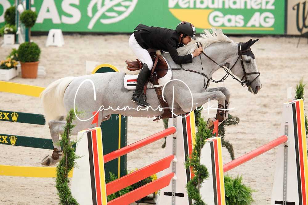 Hamcho Ahamd Saber (SYR) - Wonderboy III<br /> Rolex FEI World Cup Final Jumping 2011<br /> © Hippo Foto - Leanjo de Koster