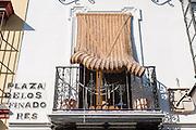 House balcony in Sevilla (Spain)