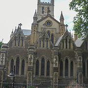 Southwark Cathedral on 18 July 2019, City of London, UK.