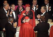 John Cardinal O'Connor's 80th birthday party at the Waldorf Astoria Hotel in Manhattan, NY.