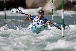 Corinna KUHNLE of Austria during the Canoe Single (WK1) Womens Semi Final race of 2019 ICF Canoe Slalom World Cup 4, on June 28, 2019 in Tacen, Ljubljana, Slovenia. Photo by Sasa Pahic Szabo / Sportida