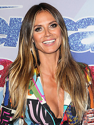 Heidi Klum arrives at NBC's 'America's Got Talent' Season 12 Live Show at the Dolby Theatre on September 5, 2017 in Hollywood, California. 05 Sep 2017 Pictured: Heidi Klum. Photo credit: MEGA TheMegaAgency.com +1 888 505 6342