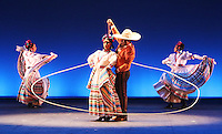 Ballet Folklorico De Mexico De Amalia Hernandez tells the story of Mexico's rich history through vibrant and exuberant dances.