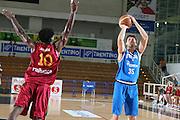 DESCRIZIONE : Trento Torneo Internazionale Maschile Trentino Cup Italia Portogallo Italy Portugal<br /> GIOCATORE : Andrea Bargnani<br /> SQUADRA : Italia Italy<br /> EVENTO : Raduno Collegiale Nazionale Maschile <br /> GARA : Italia Portogallo Italy Portugal<br /> DATA : 27/07/2009 <br /> CATEGORIA : tiro<br /> SPORT : Pallacanestro <br /> AUTORE : Agenzia Ciamillo-Castoria/E.Castoria