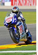 99 JORGE LORENZO SPANISH FIAT YAMAHA TEAM YAMAHA  MotoGP..18 GP Valencia (Circuit  R.Tormo 07 11 2010)..©Photo:PSP Stan Perec..