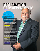 Insurance Agent Ken Parker, White River Junction, Vermont for Independent Agent Magazine