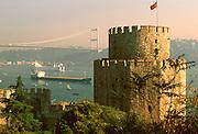 TURKEY, BOSPHORUS Rumeli Hisari Castle built in 1452