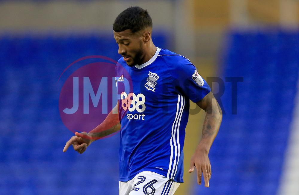 David Davis of Birmingham City - Mandatory by-line: Paul Roberts/JMP - 08/08/2017 - FOOTBALL - St Andrew's Stadium - Birmingham, England - Birmingham City v Crawley Town - Carabao Cup