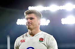 Owen Farrell of England looks on after the match - Mandatory byline: Patrick Khachfe/JMP - 07966 386802 - 27/02/2016 - RUGBY UNION - Twickenham Stadium - London, England - England v Ireland - RBS Six Nations.