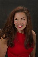 Gina McGuire headshot session.  ©2019 Karen Bobotas Photographer