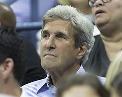 September 5, 2017 - New York, New York, United States - John Kerry attends match between Venus Williams of USA & Petra Kvitova of Czech Republic at US Open Championships at Billie Jean King National Tennis Center  (Credit Image: © Lev Radin/Pacific Press via ZUMA Wire)