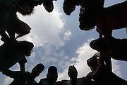 Belo Horizonte_MG, Brasil.<br /> <br /> Atividades da area de danca do Nucleo Valores do Plugminas em Belo Horizonte, Minas Gerais.<br /> <br /> Dance of Nucleo Valores Plugminas in Belo Horizonte, Minas Gerais.<br /> <br /> Foto: LEO DRUMOND / NITRO
