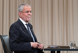 "27.11.2016, ATV Studio, Wien, AUT, ATV Diskussion ""Meine Wahl - Das Duell"" anlässlich der Präsidentschaftswahl 2016, im Bild Präsidentschaftskandidat Alexander Van der Bellen // Candidate for Presidential Elections Alexander Van der Bellen before television confrontation beetwen top candidates for the austrian presidential elections in Vienna, Austria on 2016/11/27, EXPA Pictures © 2016, PhotoCredit: EXPA/ Michael Gruber"