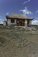 Mongolia. Shankin Barun Kuree monastery  Hurjit Region  Mongolia