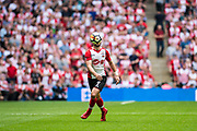 Southampton (7) Shane Long during the The FA Cup match between Chelsea and Southampton at Wembley Stadium, London, England on 22 April 2018. Picture by Sebastian Frej.
