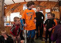 Klaus' Midget Race with Gunstock Ski Club Wednesday, February 27, 2013.