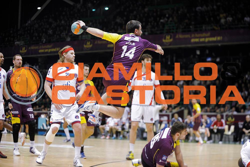 DESCRIZIONE : Handball Nantes<br /> GIOCATORE : Frederic DOLE<br /> SQUADRA : Nantes <br /> EVENTO : <br /> GARA : Nantes Paris<br /> DATA : 14 03 2013<br /> CATEGORIA : Handball Homme President HBCN Ile de Nantes<br /> SPORT : Handball <br /> AUTORE : JF Molliere <br /> Galleria : France Hand 2012-2013 Magazine<br /> Fotonotizia : Handball <br /> Predefinita :