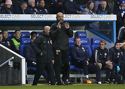 """Wolves Manager Nuno Espirito shouts instructions to his players  during the Sky Bet Championship match at the Madejski Stadium, Reading. PRESS ASSOCIATION Photo. Picture date: Saturday November 18, 2017. See PA story SOCCER Reading. Photo credit should read: Mark Kerton/PA Wire. RESTRICTIONS: EDITORIAL USE ONLY No use with unauthorised audio, video, data, fixture lists, club/league logos or """"live"""" services. Online in-match use limited to 75 images, no video emulation. No use in betting, games or single club/league/player publications."""