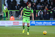 Forest Green Rovers Farrend Rawson(20) on the ball during the EFL Sky Bet League 2 match between Forest Green Rovers and Port Vale at the New Lawn, Forest Green, United Kingdom on 6 January 2018. Photo by Shane Healey.