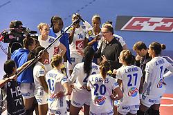France team during the Women's european handball chanmpionship preliminary round, Slovenia vs France. Nancy, Fance -02/12/2018//POLEMILE_01POL20181202NAN002/Credit:POL EMILE / SIPA/SIPA/1812021731