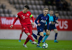 MUNICH, GERMANY - Wednesday, December 11, 2019: Bayern Munich's captain Flavius Daniliuc during the final UEFA Youth League Group B match between FC Bayern München and Tottenham Hotspur at the FC Bayern Campus. (Pic by David Rawcliffe/Propaganda)