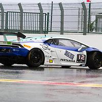 #12, Lamborghini Huracán, Konrad Motorsport, A.Krenzia , Lamborghini BlancPain Super Trofeo 2015