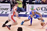 DESCRIZIONE : Sassari Lega A 2014-2015 Banco di Sardegna Sassari Grissinbon Reggio Emilia Finale Playoff Gara 6 <br /> GIOCATORE : David Logan<br /> CATEGORIA : palleggio equilibrio a terra sequenza<br /> SQUADRA : Banco di Sardegna Sassari<br /> EVENTO : Campionato Lega A 2014-2015<br /> GARA : Banco di Sardegna Sassari Grissinbon Reggio Emilia Finale Playoff Gara 6 <br /> DATA : 24/06/2015<br /> SPORT : Pallacanestro<br /> AUTORE : Agenzia Ciamillo-Castoria/GiulioCiamillo<br /> GALLERIA : Lega Basket A 2014-2015<br /> FOTONOTIZIA : Sassari Lega A 2014-2015 Banco di Sardegna Sassari Grissinbon Reggio Emilia Finale Playoff Gara 6<br /> PREDEFINITA :