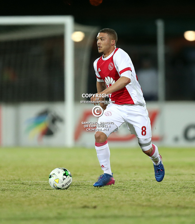 DURBAN, SOUTH AFRICA - AUGUST 23: Grant Margeman of Ajax Cape Town during the Absa Premiership match between Maritzburg United and Ajax Cape Town at Harry Gwala Stadium on August 23, 2017 in Durban, South Africa. (Photo by Steve Haag/Gallo Images)