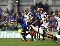 Rugby Union - 2016 / 2017 European Rugby Champions Cup - Quarter-Final: Leinster vs. Wasps<br /> <br /> Leinster's Joey Carbery is tackled by Willie Le Roux of Wasps , at the Aviva Stadium, Dublin.<br /> <br /> COLORSPORT/KEN SUTTON