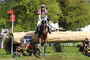 Toshiyuki Tanaka (JPN) riding Kelecyn Pirate during the International Horse Trials at Chatsworth, Bakewell, United Kingdom on 13 May 2018. Picture by George Franks.