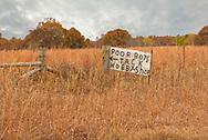 Pawhuska, Oklahoma, Poor Boys sign