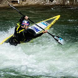 20200521: SLO, Kayak & Canoe - Peter Kauzer and Benjamin Savsek at training session