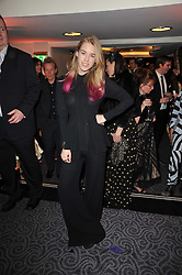 MARY CHARTERIS at Quintessentially's 10th birthday party held at The Savoy Hotel, London on 13th December 2010.