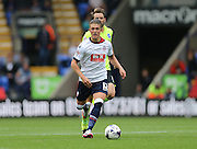Bolton Wanderers striker Max Clayton breaks during the Sky Bet Championship match between Bolton Wanderers and Brighton and Hove Albion at the Macron Stadium, Bolton, England on 26 September 2015.