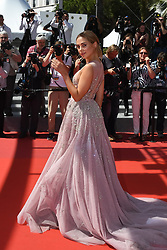 Kimberley Garner arriving on the red carpet of 'How to Talk to Girls at Parties' screening held at the Palais Des Festivals in Cannes, France on May 21, 2017 as part of the 70th Cannes Film Festival. Photo by Nicolas Genin/ABACAPRESS.COM