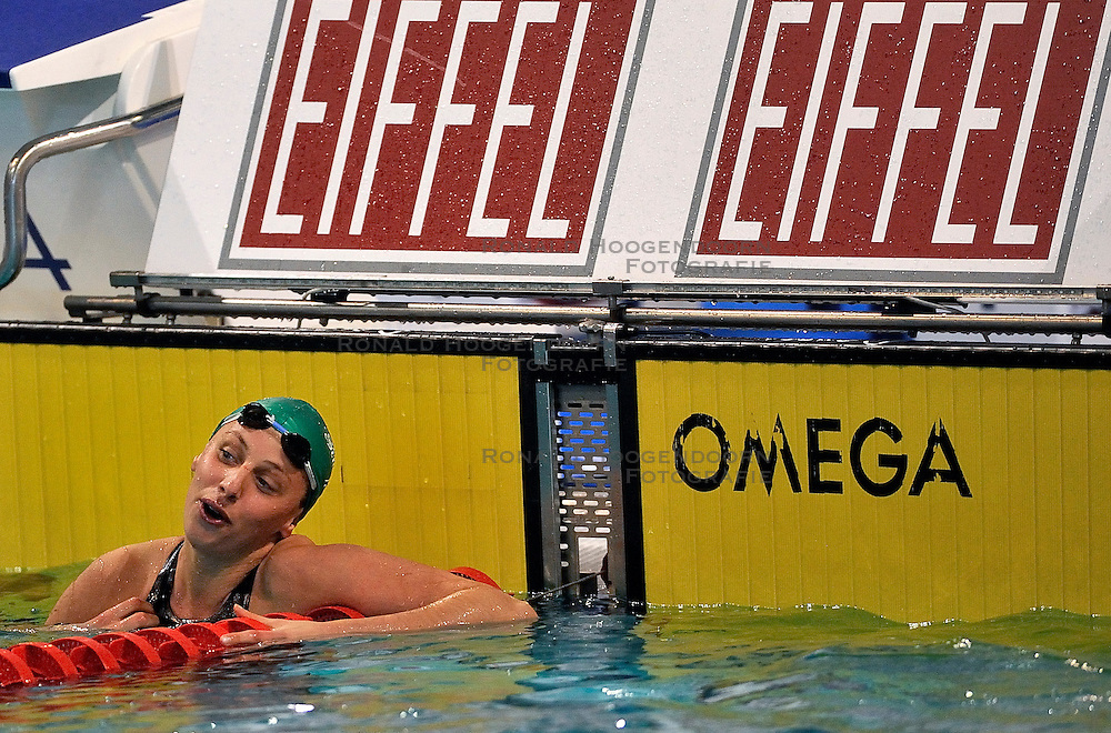 07-04-2011 ZWEMMEN: SWIMCUP: EINDHOVEN<br /> Jennie Johansson SWE<br /> &copy;2011 Ronald Hoogendoorn Photography