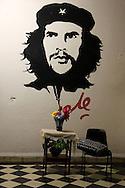 Image of Ernesto Che Guevara in Cumanayagua, Cienfuegos, Cuba.
