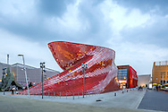 Venke pavilion Expo 20015 Mlan. Architect Daniel Liebskind