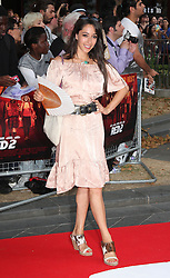 Red 2 UK film premiere.<br /> Oona Chaplin during the premiere of the sequel to 2010's graphic novel adaption, about a group of retired assassins. <br /> Empire Leicester Square<br /> London, United Kingdom<br /> Monday, 22nd July 2013<br /> Picture by i-Images